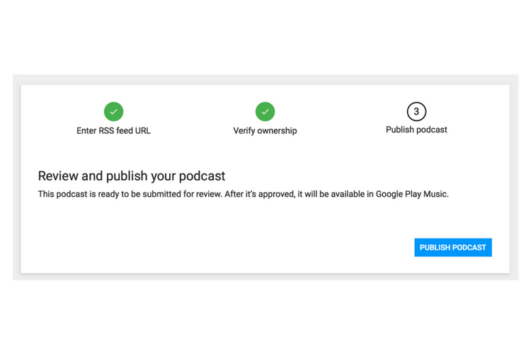 how to download a podcast on google music